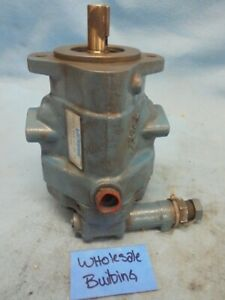 "VICKERS 02-341461 AXIAL PISTON PUMP PVB 6 RSY 40 CM 12, 1500 PSI MAX, 3/4"" SAE"