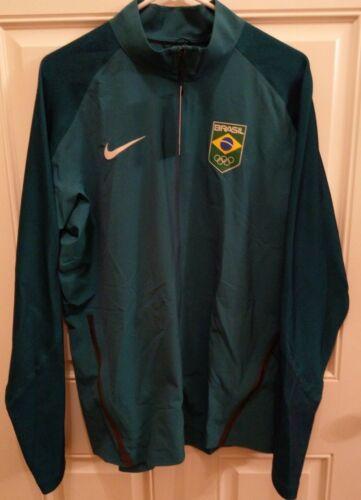 Team 807485 Nike de Brasil Flex Msrp 346 para 250 Brasil Chaqueta hombre running Olympic qpXBwvwxf