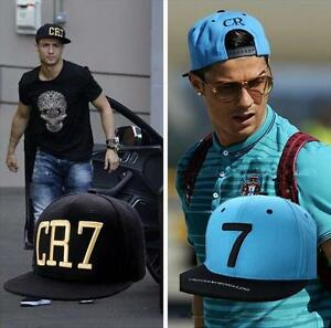 Cristiano Ronaldo CR7 Baseball Cap hat hip hop Sports Snapback ... 22c8e8fd866