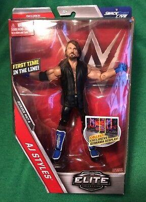 WWE MATTEL ELITE FIRST IN LINE SERIES # 47 PHENOMENONAL  AJ STYLES FIGURE