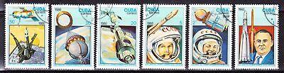Raumfahrt Komplett Satz 1986 Space Travel Voyage Spatial C532 Reich An Poetischer Und Bildlicher Pracht Motive