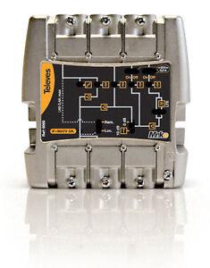 CENTRALINO-LTE-TV-DIGITALE-4-INGRESSI-FM-VHF-UHF-UHF-40dB-117dBuV-TELEVES-562401