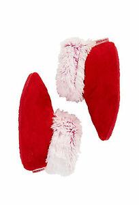 Peter-Alexander-Girls-Red-Christmas-Snuggle-Boots-XS-9-10-S11-12-M13-1-L-2-3