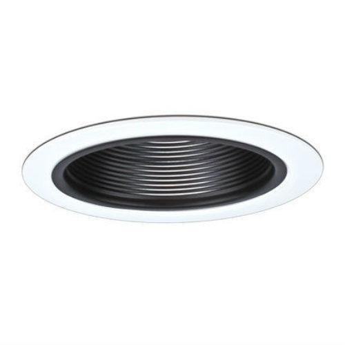 Dmf lighting d640 6 line voltage black baffle recessed light trim dmf lighting d640 6 line voltage black baffle recessed light trim white ring mozeypictures Images