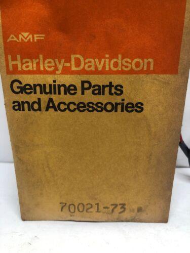 """Harley Davidson Voltage Regulator """"B"""" To Solenoid 73-74 XLH OEM 70021-73 AMF"""