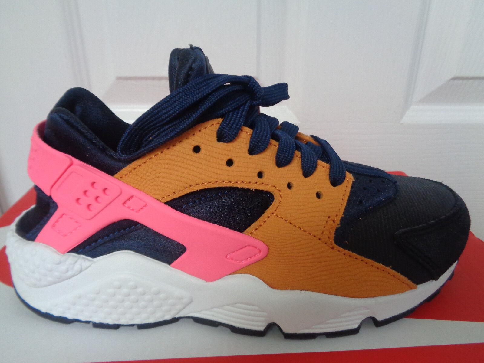Nike air huarache corsa ridotta ridotta ridotta donne formatori 683818 401 ue 37,5 noi 6,5 nuovi   box | A Prezzo Ridotto  83c0b3