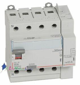 Inter-differentiel-4P40A-300mA-type-AC-Vis-Auto-Legrand-411654