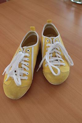 Esprit Sneaker Chucks Leinenschuhe Schuhe Gr. 36 Farbe: gelb NEUWERTIG!!!