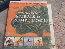 How to Paint Murals and Trompe L'Oeil by Simon Brady painting book