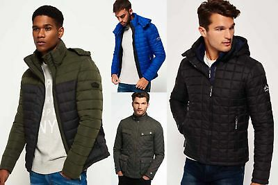 New Mens Superdry Jackets Selection - Various Styles & Colours 2310183