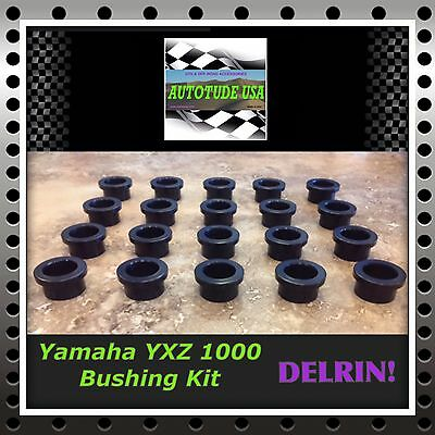 DELRIN Yamaha YXZ1000 Control Arm A-Arms Bushing Bushings Kit SUPERIOR NEW