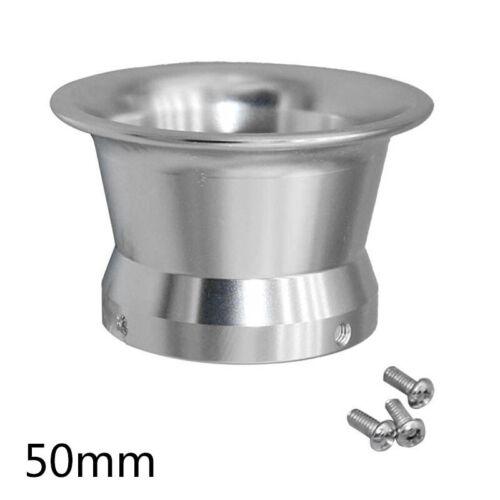 50mm Carburetor Air Filter Wild Horn Cup Set For Keihin OKO KOSO PWK24-30 Silver