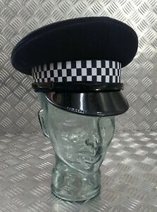 "Genuine British Police ""Old Bill"" Sergeants and Constable Officers Peak Cap NEW"