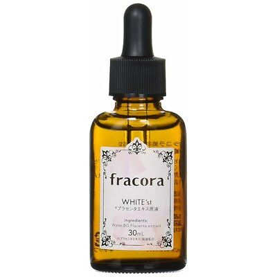 Fracora WHITE'st Placenta extract stock solution 30ml Shipping from Japan