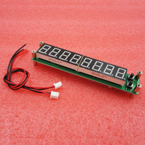 8 Digit 0.1-60MHz 20MHz~2.4GHz RF Signal Frequency Counter Tester LED Display