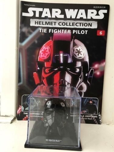 MAG 1//5 SCALE STAR WARS DEAGOSTINI HELMET COLLECTION ISSUE 6 TIE FIGHTER PILOT