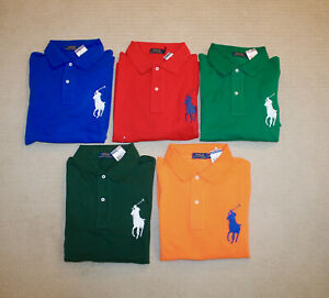 NEW-Polo-Ralph-Lauren-Big-and-Tall-Big-Pony-Classic-Fit-Shirt