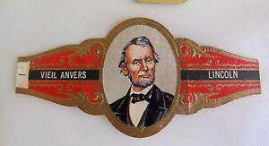 bague-de-cigare-ancienne-vieil-Anvers-personnage-abraham-Lincoln