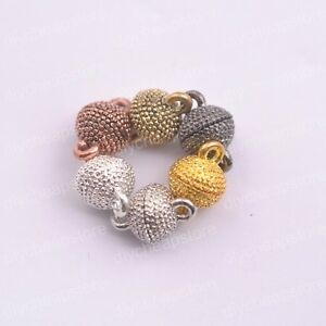 5-10-20Sets-Magnetic-Silver-Plated-Clasps-Hooks-Jewelry-Making-Finding