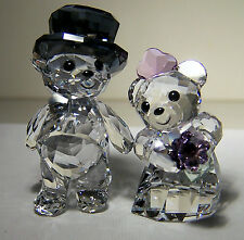 CUTE AS CAN BE SWAROVSKI CRYSTAL YOU AND I FIGURINE IN ORIGINAL BOX #1093736