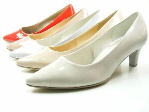 Details zu Gabor 81 250 Schuhe Damen Pumps Weite F Kaffir Lack
