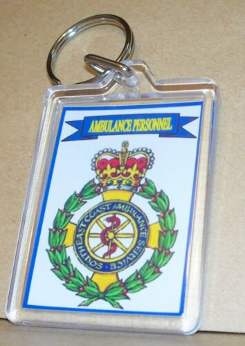 South East Coast Ambulance Service key ring..