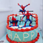 7-PCS-3D-Superhero-Spiderman-Cake-Topper-Cup-Cake-Decorations-Birthday thumbnail 7