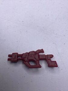 vtg Tonka GoBots Rock Lords Rocklord 1985 Granite red GUN weapon accessory part