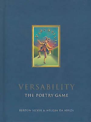 1 of 1 - Versability: The Poetry Game, Silver, Burton & Souza, Melissa De & Burton Silver