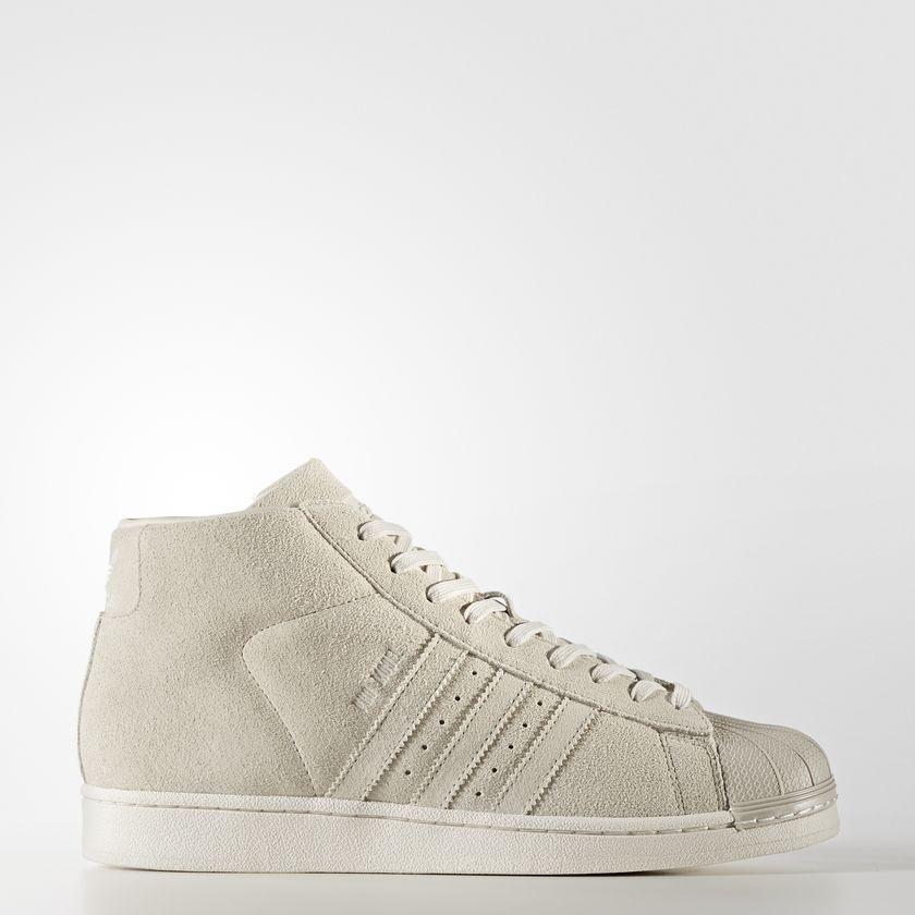 NEW Homme ADIDAS ORIGINALS PRO MODEL Chaussures  [BZ0213]  BEIGE