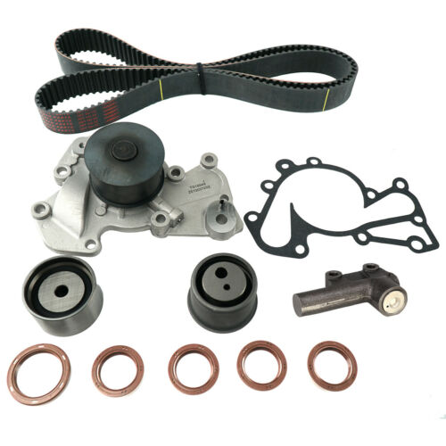 Timing Belt Kit Tensioner Water Pump Fits 05-09 Hyundai Tucson 2.7L V6 DOHC G6BA
