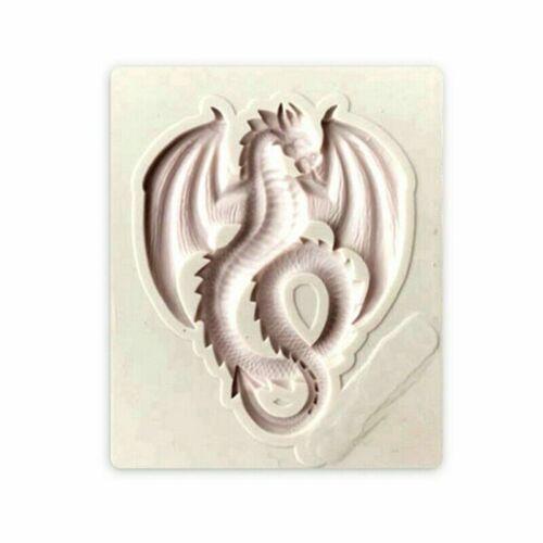 Fliegende Drachen Silikon Seife Fontantglasur Schokoladen Kuchen Sehr eNwrg Neue