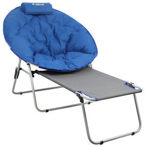 Image Is Loading OZTRAIL JUPITER MOON CHAIR With FOOTREST CAMP OUTDOOR