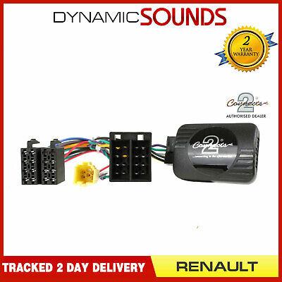 SWC-6853-d Steering Wheel Control//Facia Kit for Radio//Renault Megane II 05-08