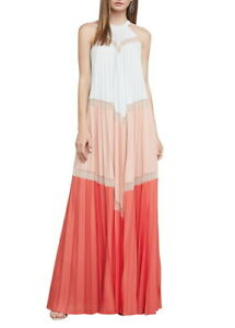 NEW-BCBGMAXAZRIA-ALYSON-SLEEVELESS-COLOR-BLOCKED-MAXI-DRESS-RWY61B50-L548-SZ-XS