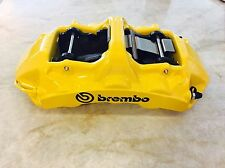 Brembo GT 6 Piston Monobloc Calipers (pair) - yellow - NEW!