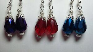 Teardrop-victorian-vintage-antique-style-dangle-fashion-handmade-earrings