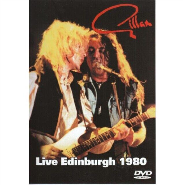 Gillan - Live in Edimburgo 1980 Nuovo DVD