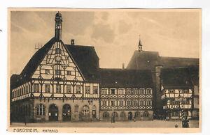 AK. Forchheim, Rathaus ca. 1920 - Elz, Deutschland - AK. Forchheim, Rathaus ca. 1920 - Elz, Deutschland