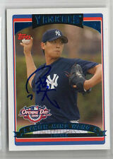 Chien-Ming Wang 2006 Topps Opening Day signed autographed card NY Yankees