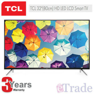 New-TCL-32-034-HD-LED-Smart-TV-with-Netflix-2018-Model-32S6500S-3-Year-Warranty