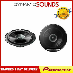 Pioneer 560W Total DualCone 6.5 Inch 17cm Car Door / Shelf Coaxial Speakers Pair