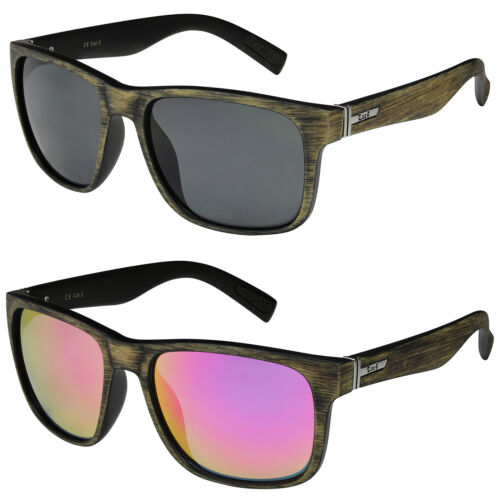 2er Pack Choppers 924 Locs Sportbrille Sonnenbrille Herren Damen schwarz silber