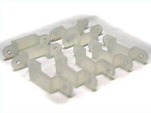 20-PZ-Presilla-Para-Fijar-Bobina-Tira-De-Led-Impermeable-Desde-8mm-Di-Anchura