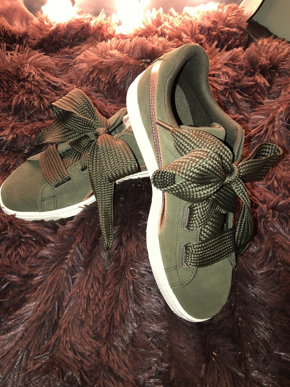 Puma limited Edition SUEDE women shoes