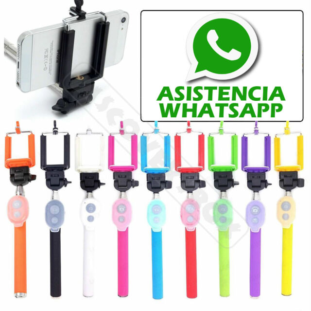 Selfie Palo Selfies Extensible Monopod Tripode - Iphone Samsung Nokia Bluetooth
