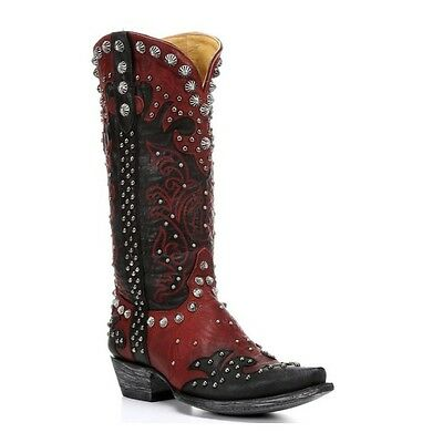 Old Gringo Ladies Raelene Red & Black Cowgirl Boot L1244-1 New