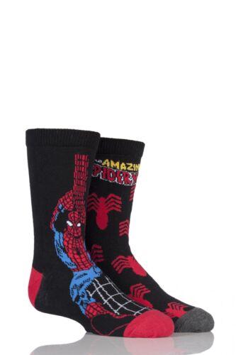 Kids 2 paire Sockshop marvel the amazing spider-man socks