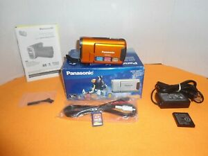 Panasonic-Rugged-Waterproof-Handheld-SD-Camcorder-SDR-SW21-Original-Box-Bundle