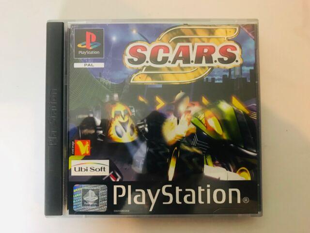 SONY PLAYSTATION 1 2 PS1 PS2 S.C.A.R.S. SCARS complet envoi rapide Très bon état